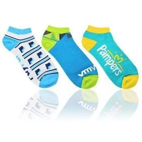 Custom branded trainer socks